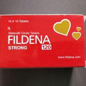 Fildena Strong Sildenafil 120mg